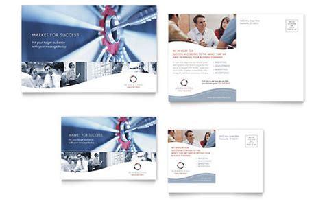 Professional Services Postcards Templates Designs Professional Postcard Templates