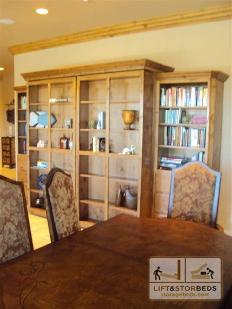 library murphy bed murphy library beds for your home lift stor beds
