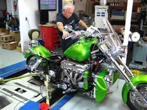 Bosshoss Bike Video by Boss Hoss Bike Dyno Run At Wester S Garage 4 Youtube