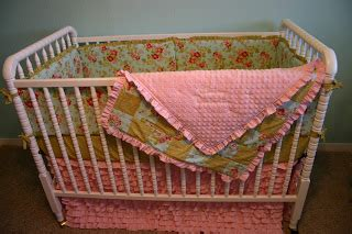 Cabin Crib Bedding by Our Cabin On The Hill Sweet Shabby Chic Nursery Bedding