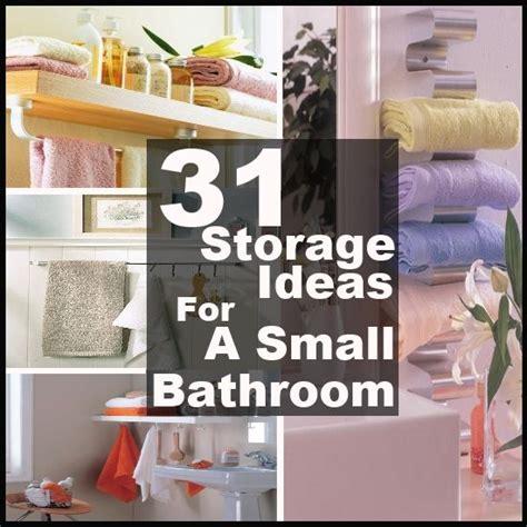 31 creative st diy small bathroom storage ideas