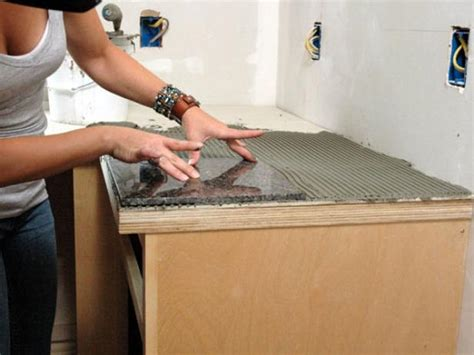 Granite Countertops That Fit Existing Countertops by How To Install A Granite Tile Kitchen Countertop How Tos