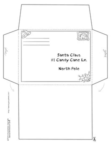 free printable santa letter with envelope dear santa biggeorgebook