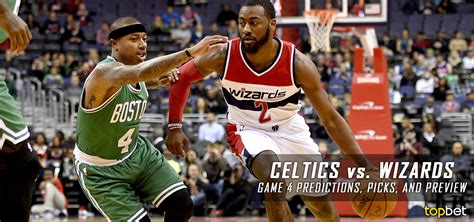 Washington Wizards Playoff Giveaways - celtics vs wizards series game 4 predictions odds preview