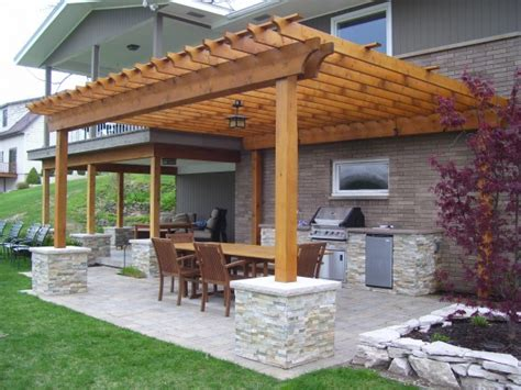 outdoor pergolas covered outdoor kitchen weatherproof outdoor kitchen with pergola by signature outdoor