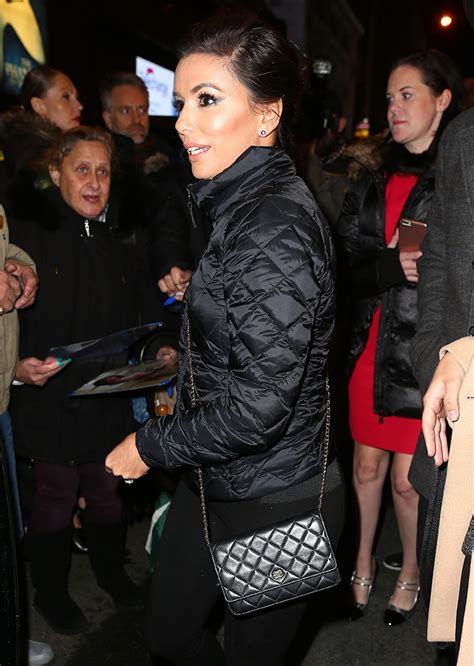 Longoria In Chanel by Eat Cake See Broadway Shows Attend Nyfw With