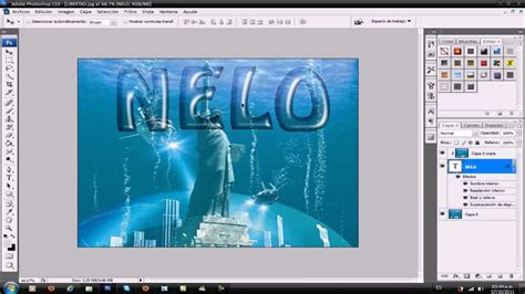 tutorial photoshop cs3 levitasi photoshop cs3 letras transparentes tutorial youtube
