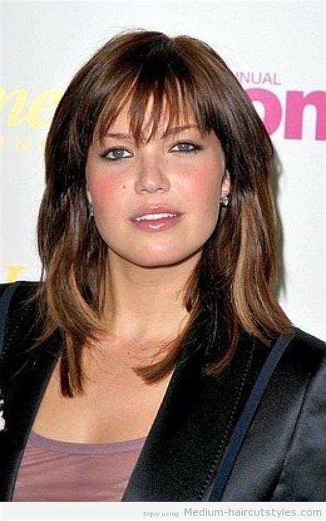 medium length hairstyle for over 50 oval face shape hairstyles for medium length hair for women over 50 with