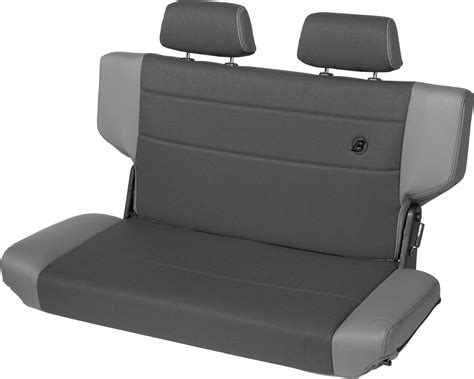 rear bench seat bestop trailmax ii fold tumble rear bench seat in