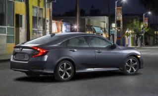 2016 honda civic sedan unveiled gets 1 5l turbo