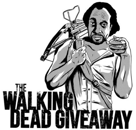 Ramsey Dead Giveaway - mash up tee of the day the walking dead giveaway