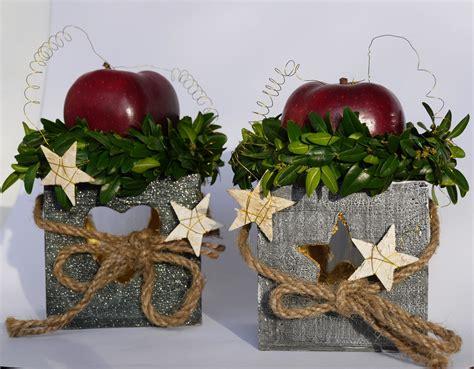 weihnachtsdekoration natur weihnachtsdekoration mit naturmaterial hermene
