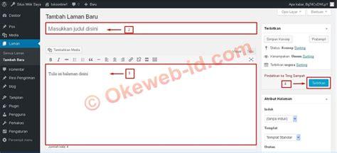 tutorial membuat website responsive tutorial membuat mengedit dan menghapus halaman page