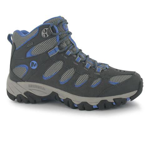 merrell womens ridge mid gtx lace up walking hiking