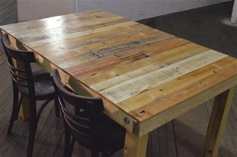 pallet dining table diy retired pallet dining table pallet furniture diy