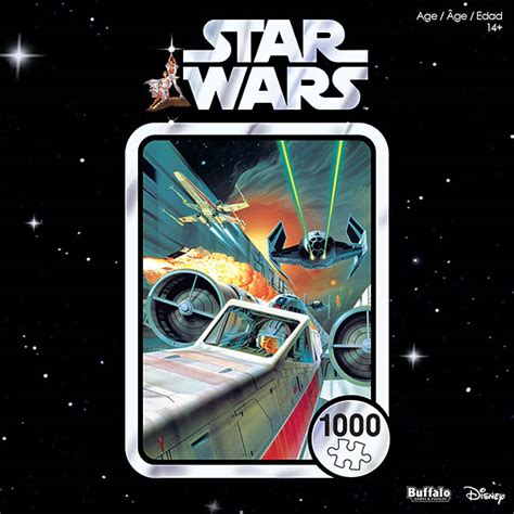star wars anniversary star wars 40th anniversary use the force luke 1000pc puzzle