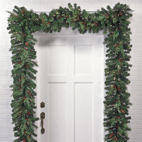white pine cordless christmas garland christmas decor