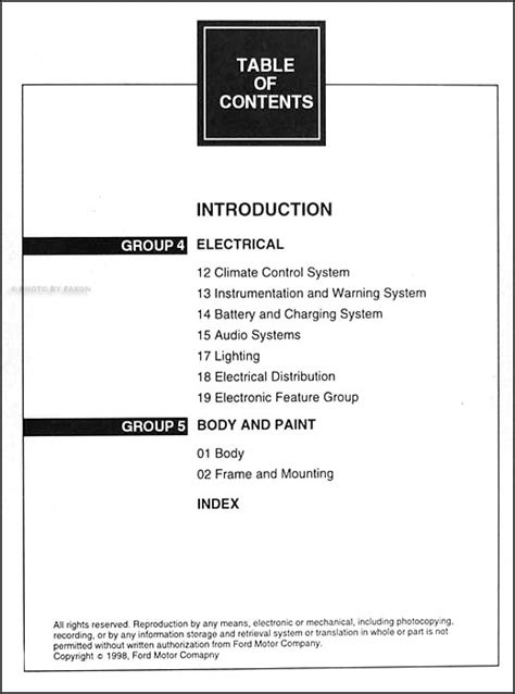 28 1999 mercury villager repair manual 19555 1999 mercury villager service manual