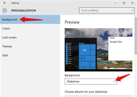 wallpaper windows 10 slideshow how to create desktop slideshow on windows 10