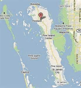 map pine island florida more about pine island