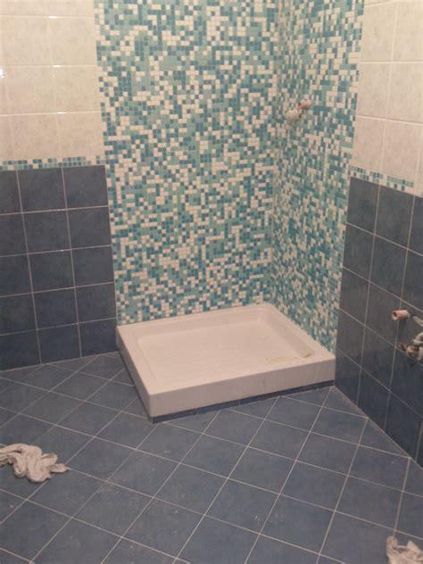doccia con mosaico foto doccia con mosaico di ditta seminerio 167217