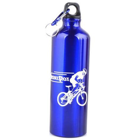 Termurah Botol Minum Olahraga Aluminium 750ml Dengan Karabiner Botol Minum Olahraga Aluminium 750ml Dengan Karabiner