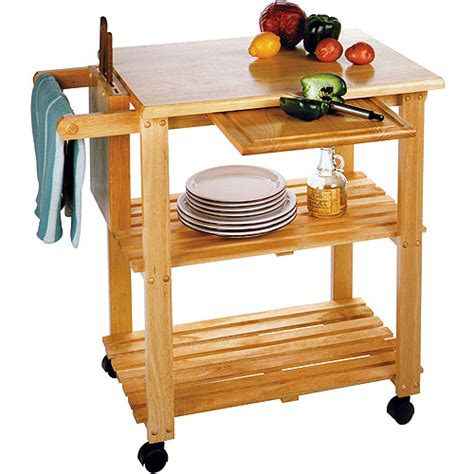 Walmart Kitchen Utility Cart by Kitchen Utility Cart Solid Beechwood Walmart