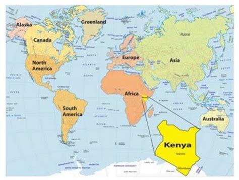 world map of kenya unphase1 6th 8th kenya