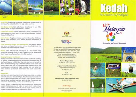 flyer design malaysia kedah the ricebowl of malaysia flyers brochures