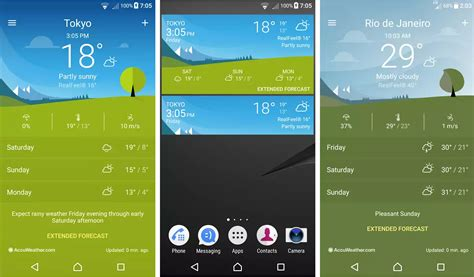 apk weather sony xperia weather 1 1 a 0 40 app update minor improvements and bug fixes