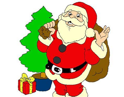 arboles de naviadad con santa clous dibujo de santa claus y un 225 rbol de navidad pintado por carlos2 en dibujos net el d 237 a 13 12 13 a