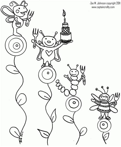 insect coloring pages pdf insect coloring pages free insects and bugs coloring pages