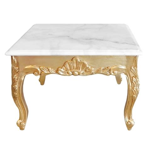 gold and wood coffee table square coffee table baroque style gold wood with leaf and
