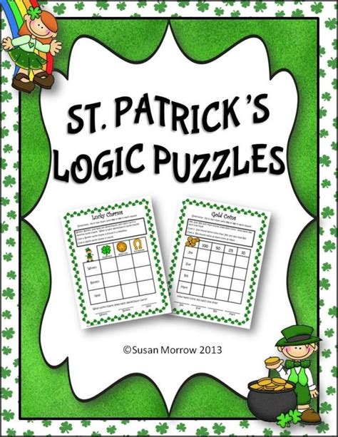 printable logic puzzles 6th grade printable logic problems for 6th grade free math puzzles