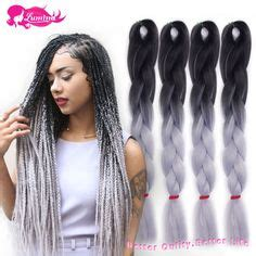 kanekolan hair black white grey 1000 images about braid on pinterest box braids box