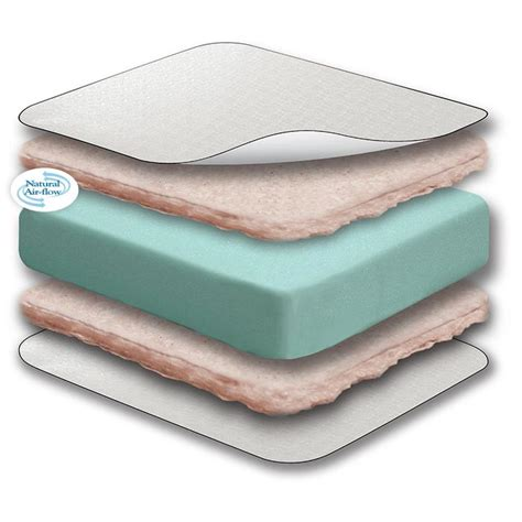 Sealy Soybean Everedge Crib Mattress by Sealy Soybean Everedge Foam Crib Toddler Mattress 28