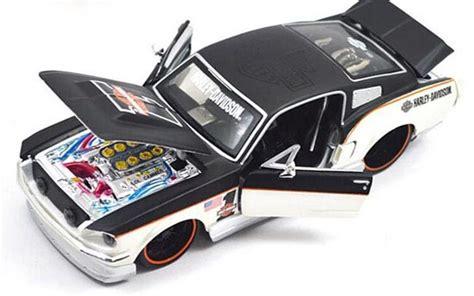 Harley Davidson 2272 Crono On 5cm A5 white black 1 24 harley davidson diecast 1967 ford mustang gt na02t0365 vktoybuy