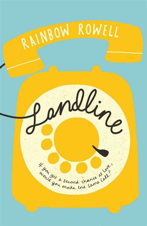 Landline Oleh Rainbow Rowell 1 rainbow rowell obsession self diagnosis landline tour of contemporary