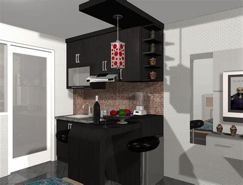 kumpulan gambar desain kitchen set minimalis rumah modern