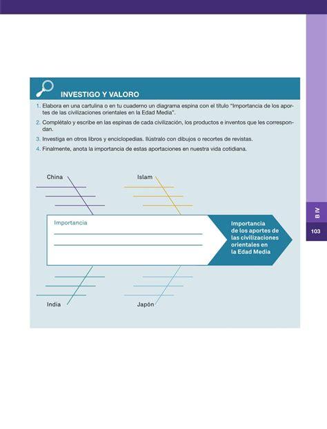 libro de historia 6 grado respuestas historia sexto grado 2016 2017 online libros de texto