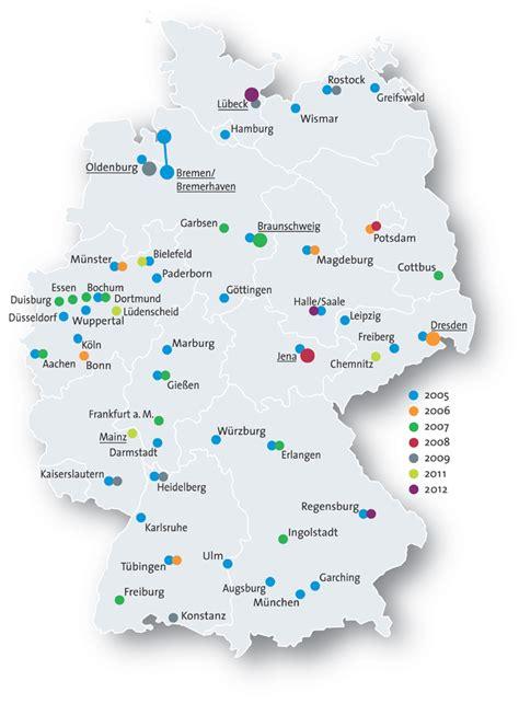 Deutsches Büro Grüne Karte Fax by Die Bewerberst 228 Dte 2005 2012