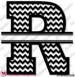 Pin Chevron Monogram R Letters on Pinterest