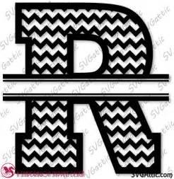 Pin Chevron Monogram R Letters on Pinterest
