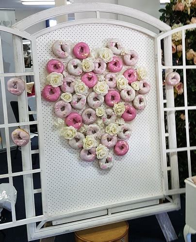 donut wall | bridal expos melbourne