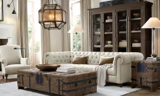 Small Antique Bookcase Rooms Restoration Hardware