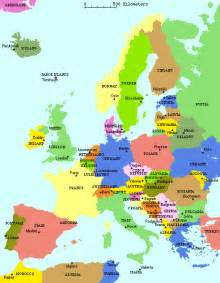 country map with cities map of europe countries and cities travelmap1 travel