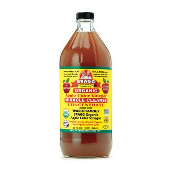 Apple Cider Vinegar Detox Gnc bragg 174 organic apple cider vinegar miracle cleanse