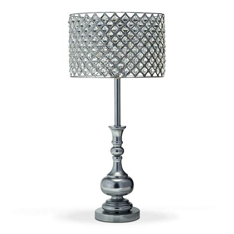 Glass Crystal Table Lamp   American Signature Furniture