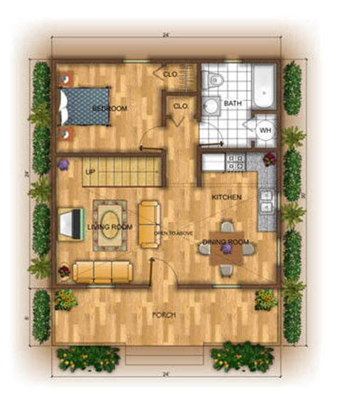 weekend cabin floor plans bernard building center chalet 24x52 house construction
