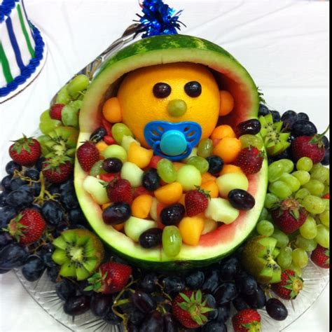 Fruit Baby For Baby Shower by Fruit Trays For Baby Shower Invitations Ideas